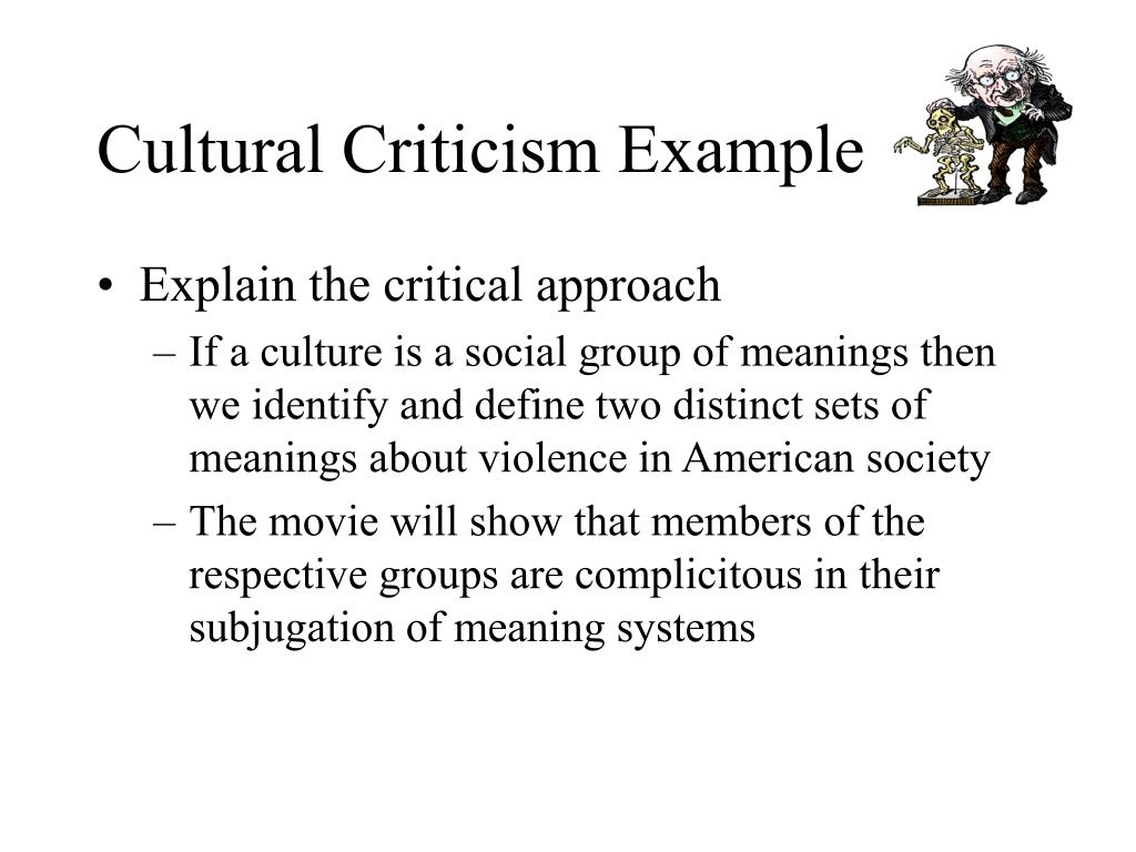 culture of critique essay The liturgical critique of technological culture  in a remarkable treatment of  the same themes dealt with in this essay, michael hanby.