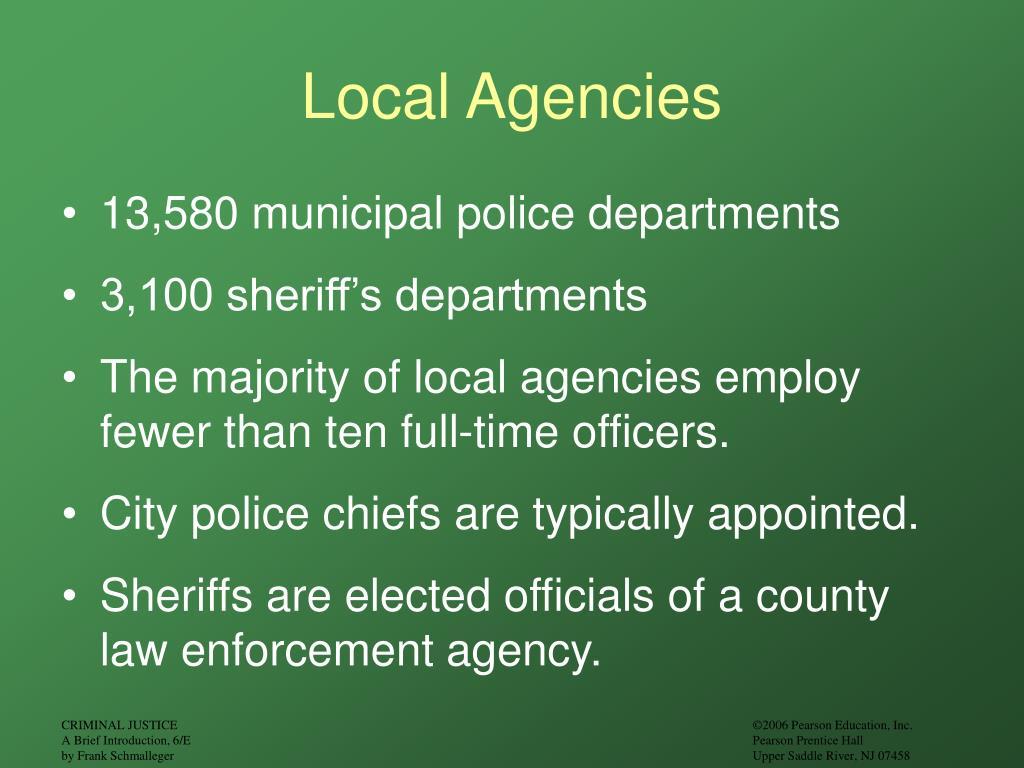 Local Agencies