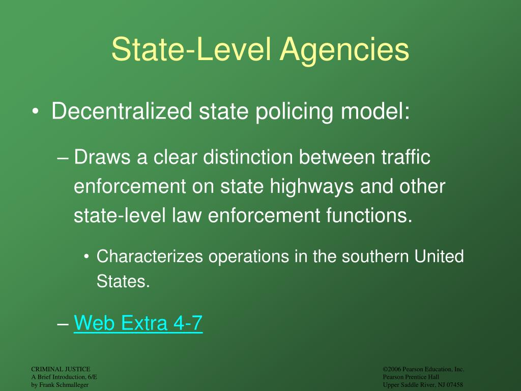 State-Level Agencies