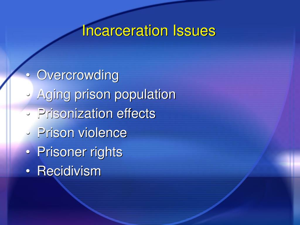 Incarceration Issues