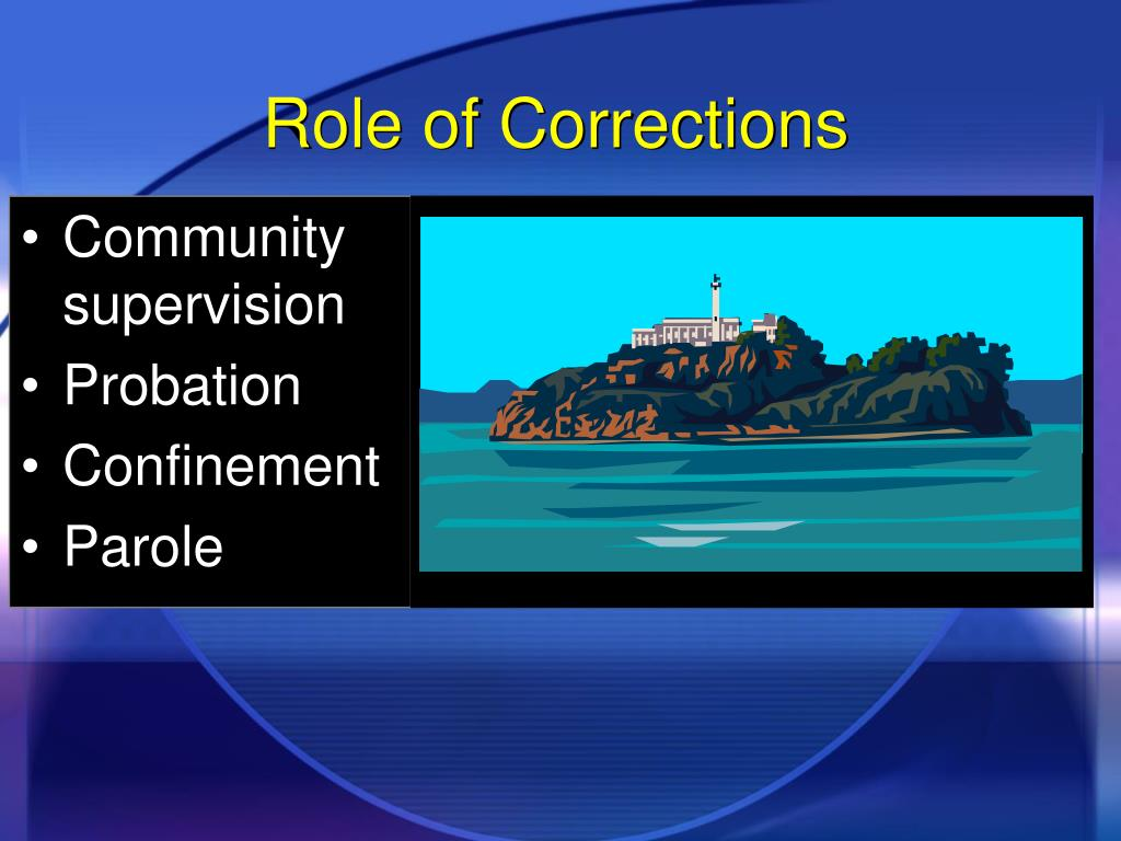 Role of Corrections