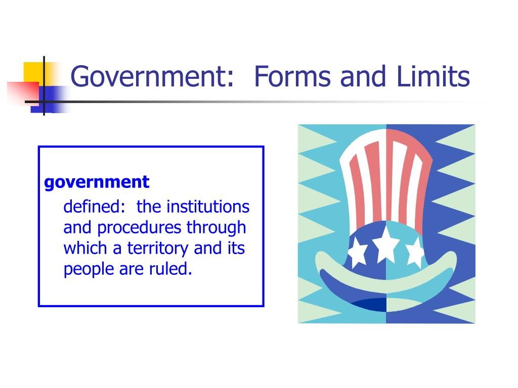 Government:  Forms and Limits