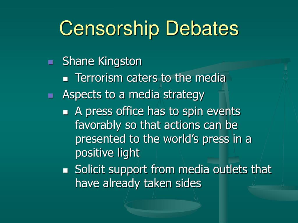 Censorship Debates