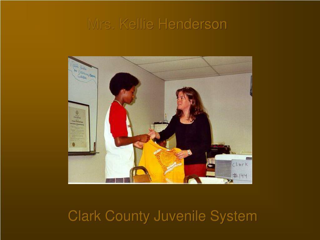 Mrs. Kellie Henderson