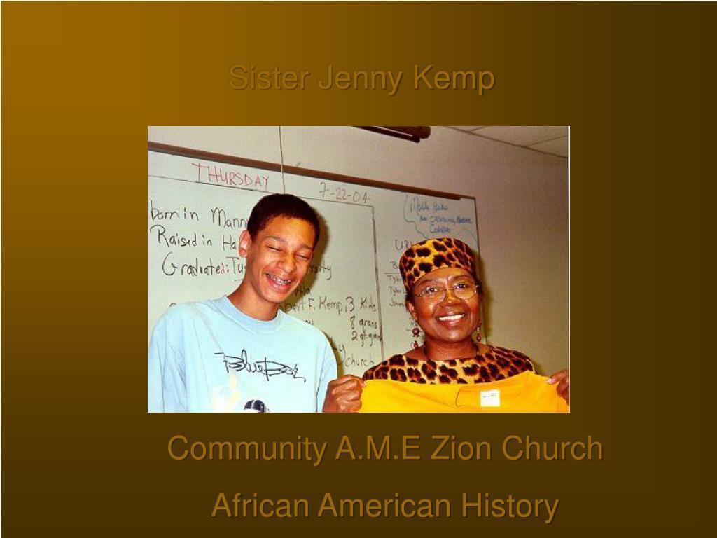 Sister Jenny Kemp
