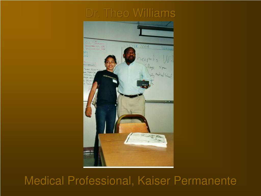 Dr. Theo Williams