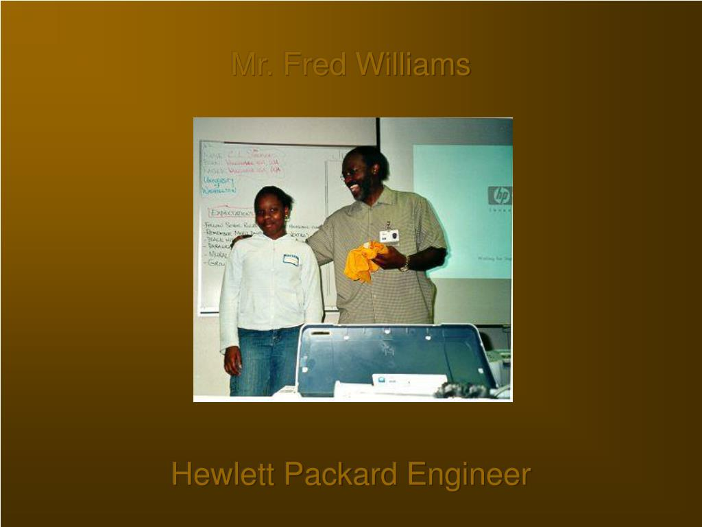 Mr. Fred Williams