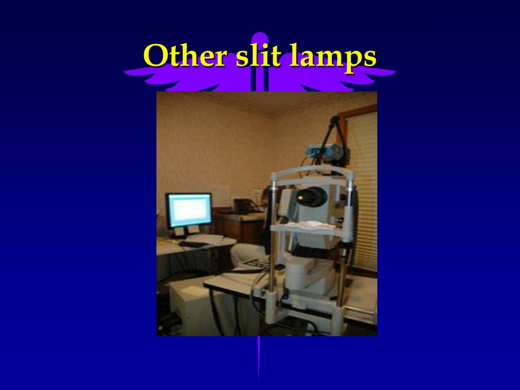 Other slit lamps