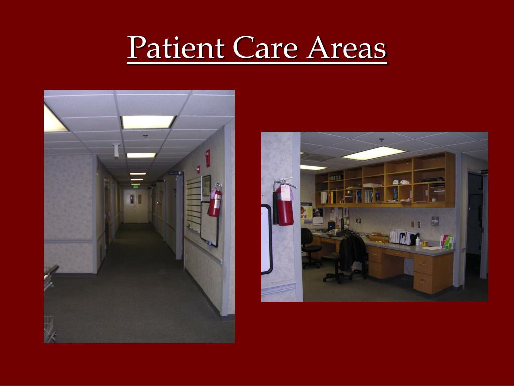 Patient Care Areas