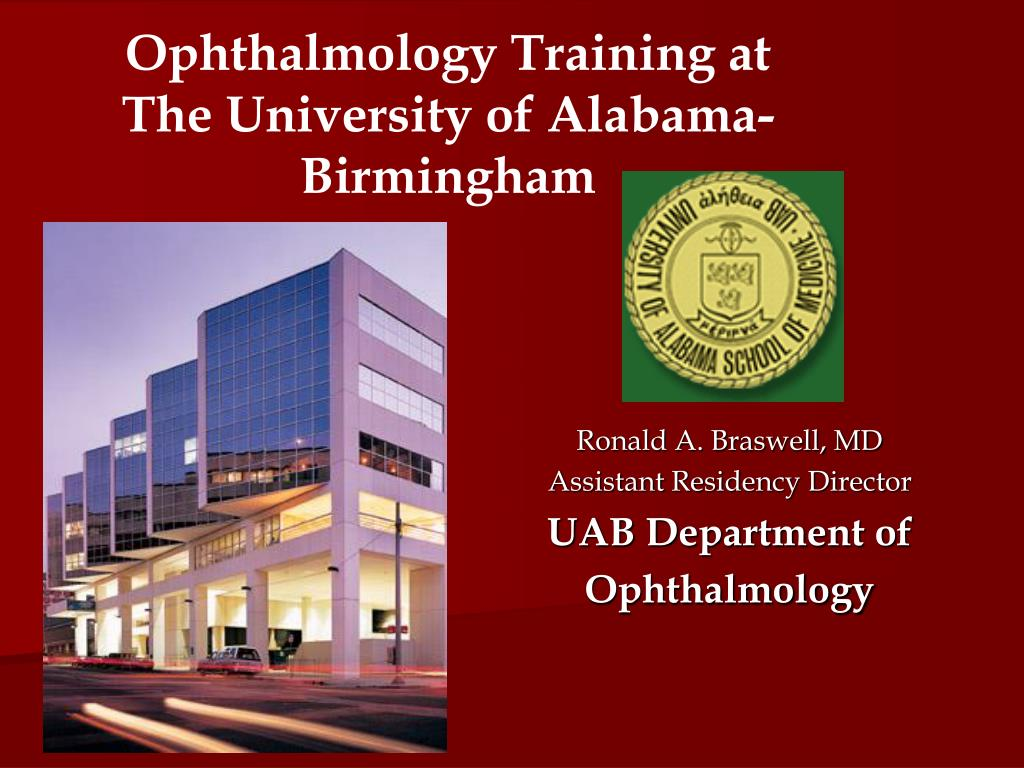 Ophthalmology Training at The University of Alabama-Birmingham