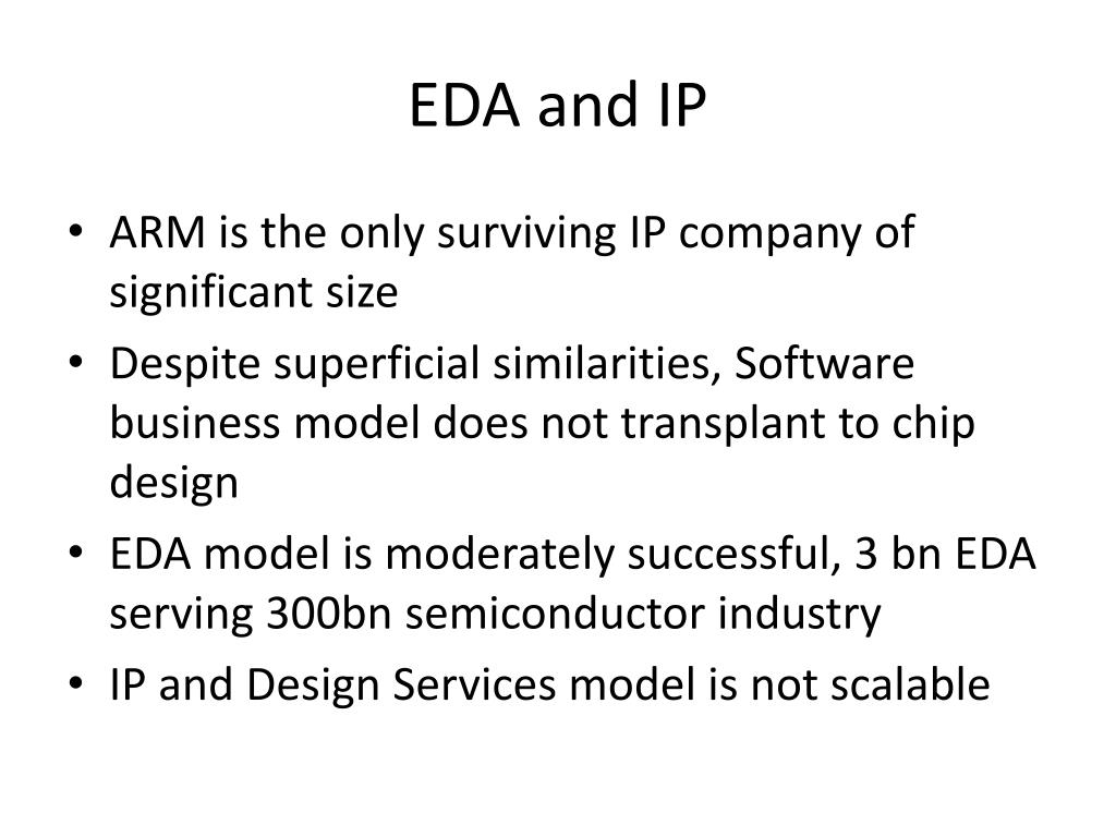 EDA and IP