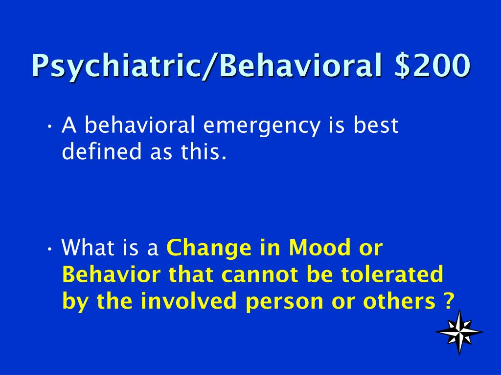 Psychiatric/Behavioral $200