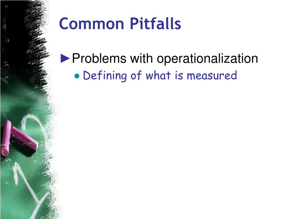 Common Pitfalls