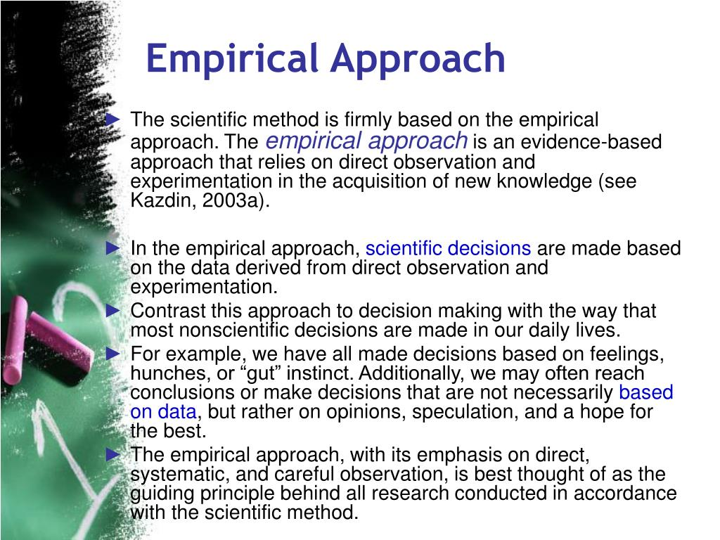 Empirical Approach