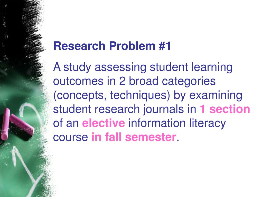 Research Problem #1