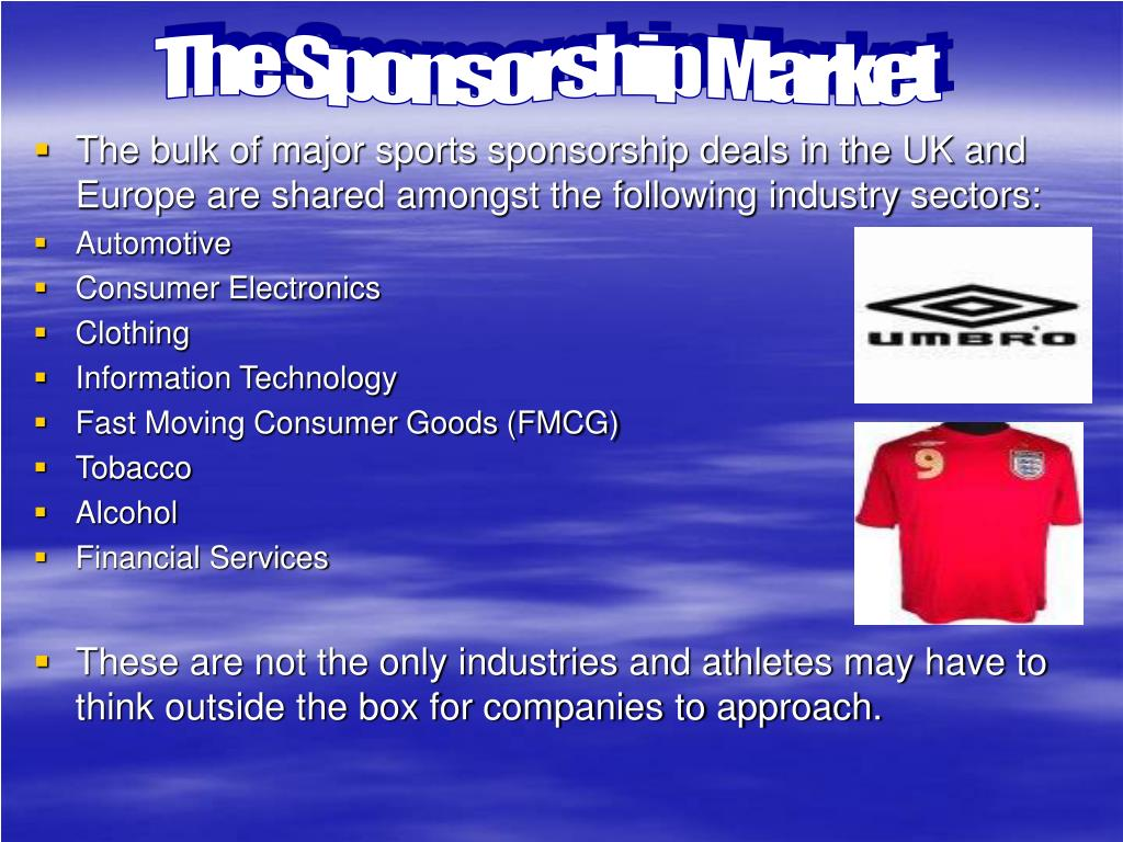 The Sponsorship Market
