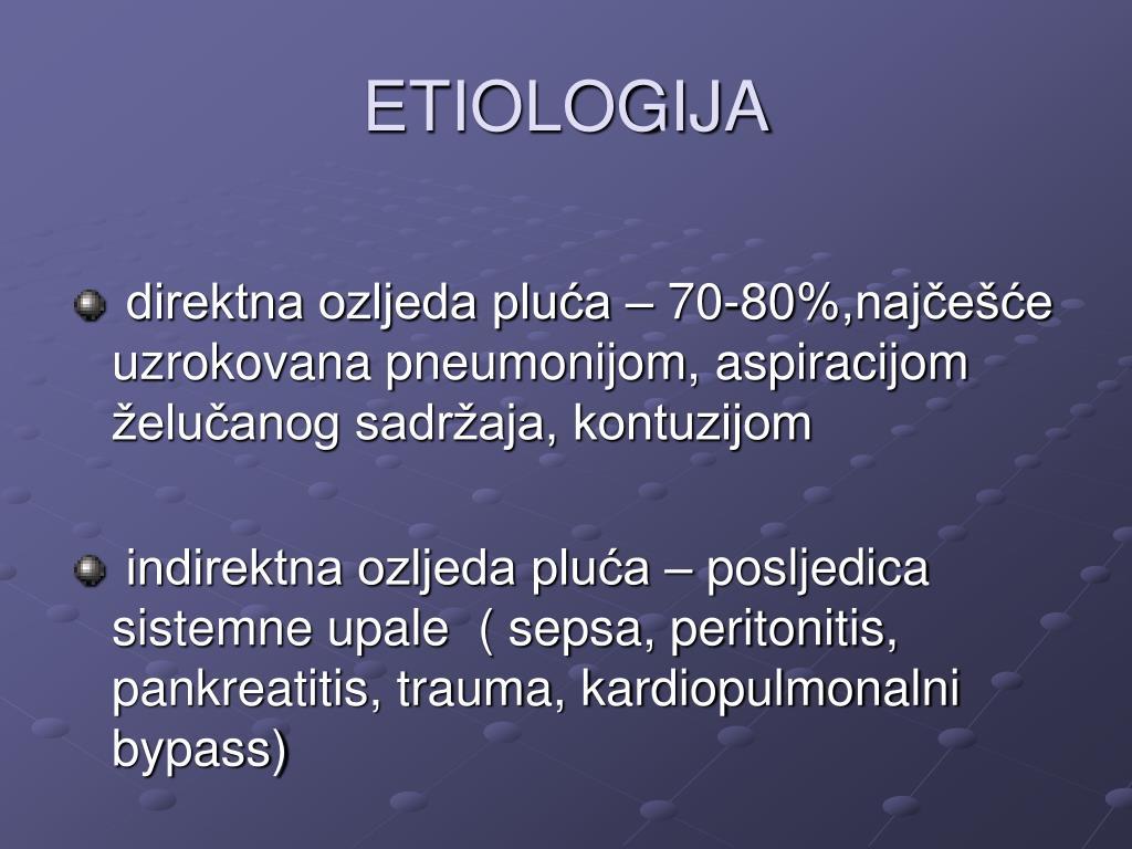 ETIOLOGIJA