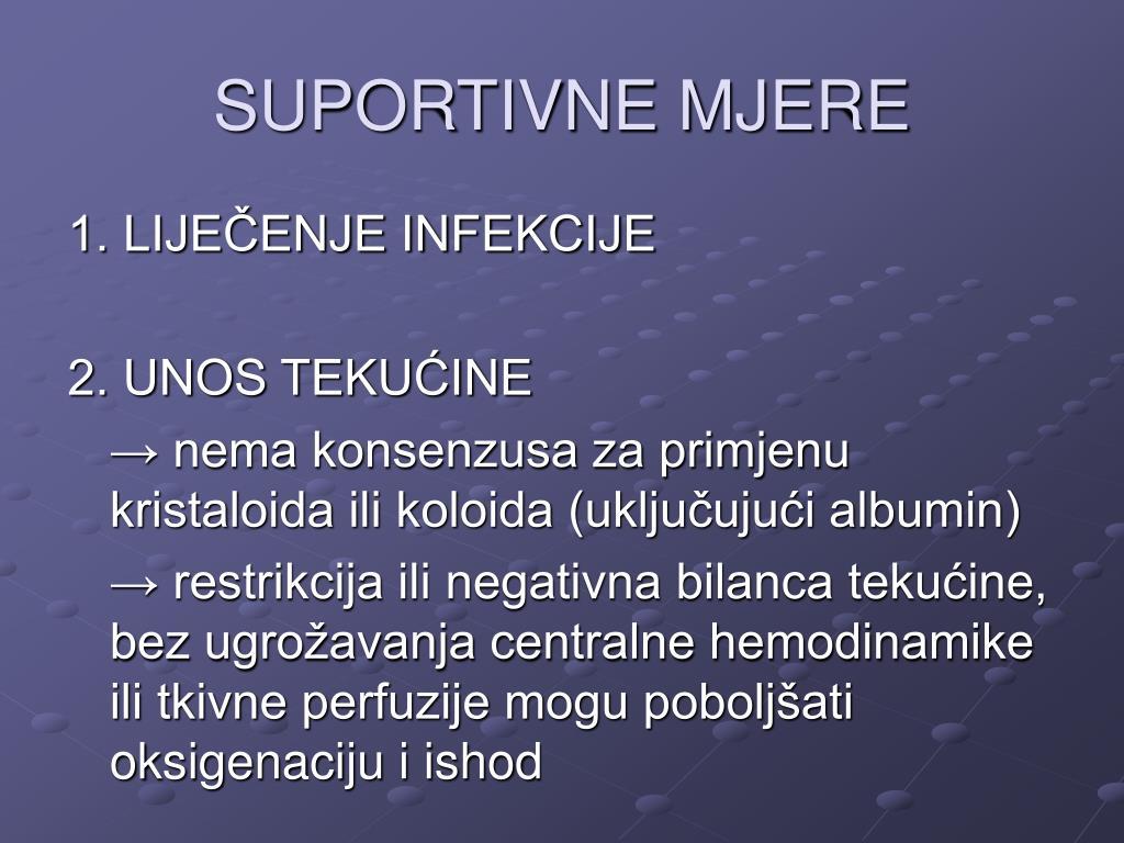 SUPORTIVNE MJERE