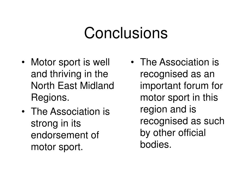 Motor sport is well and thriving in the North East Midland Regions.