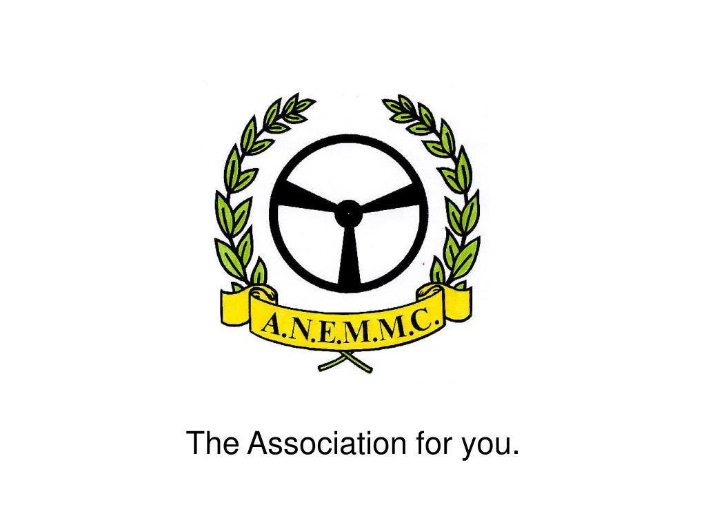 The Association for you.