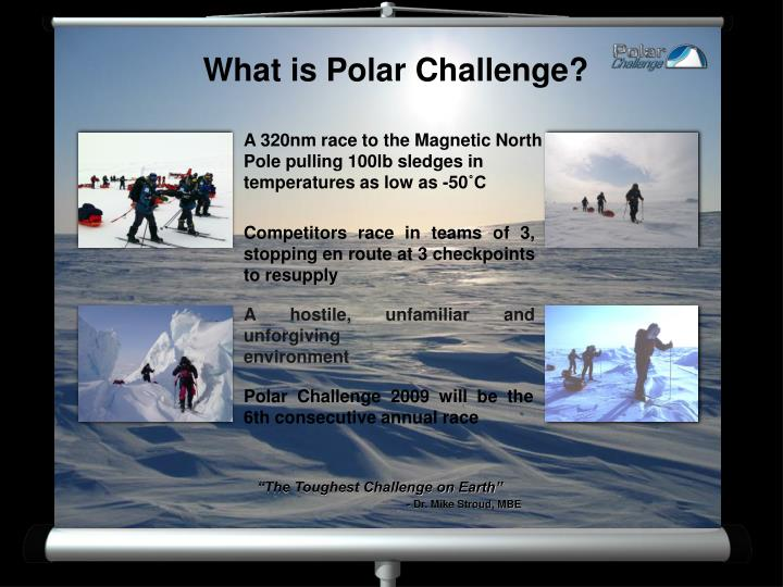 What is Polar Challenge?