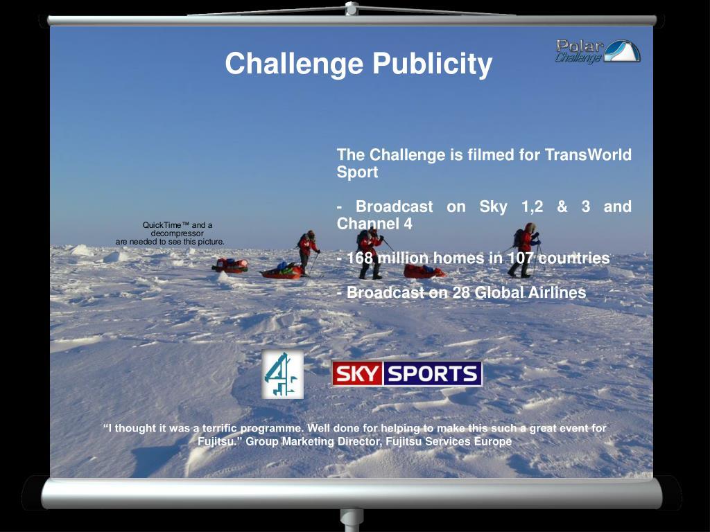 Challenge Publicity