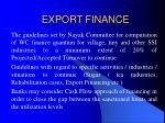 export finance13
