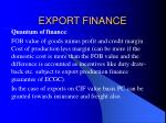 export finance14