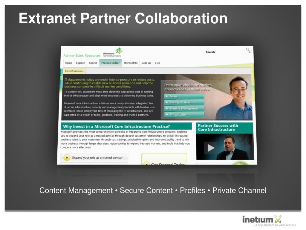 Extranet Partner Collaboration
