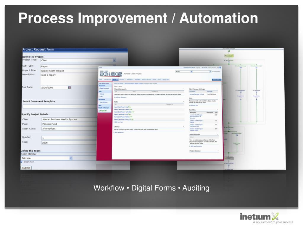 Process Improvement / Automation