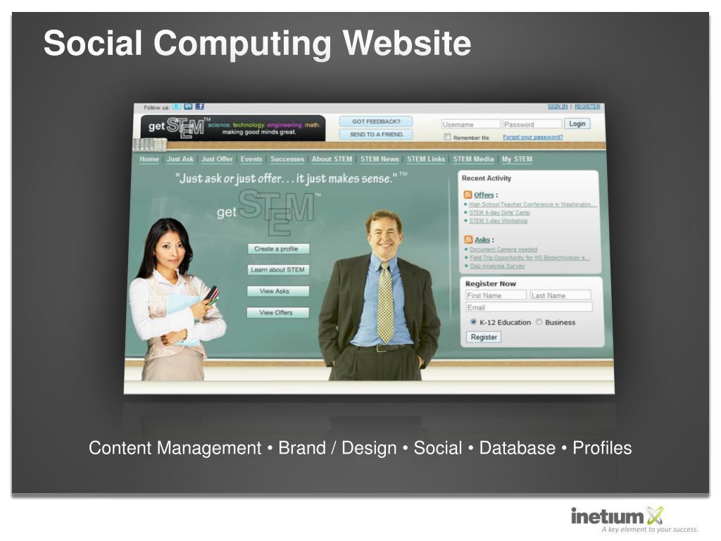 Social Computing Website