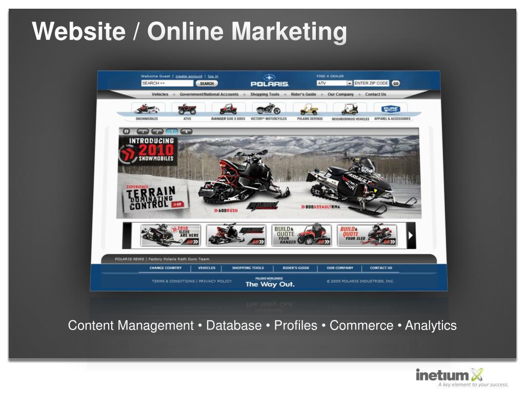 Website / Online Marketing