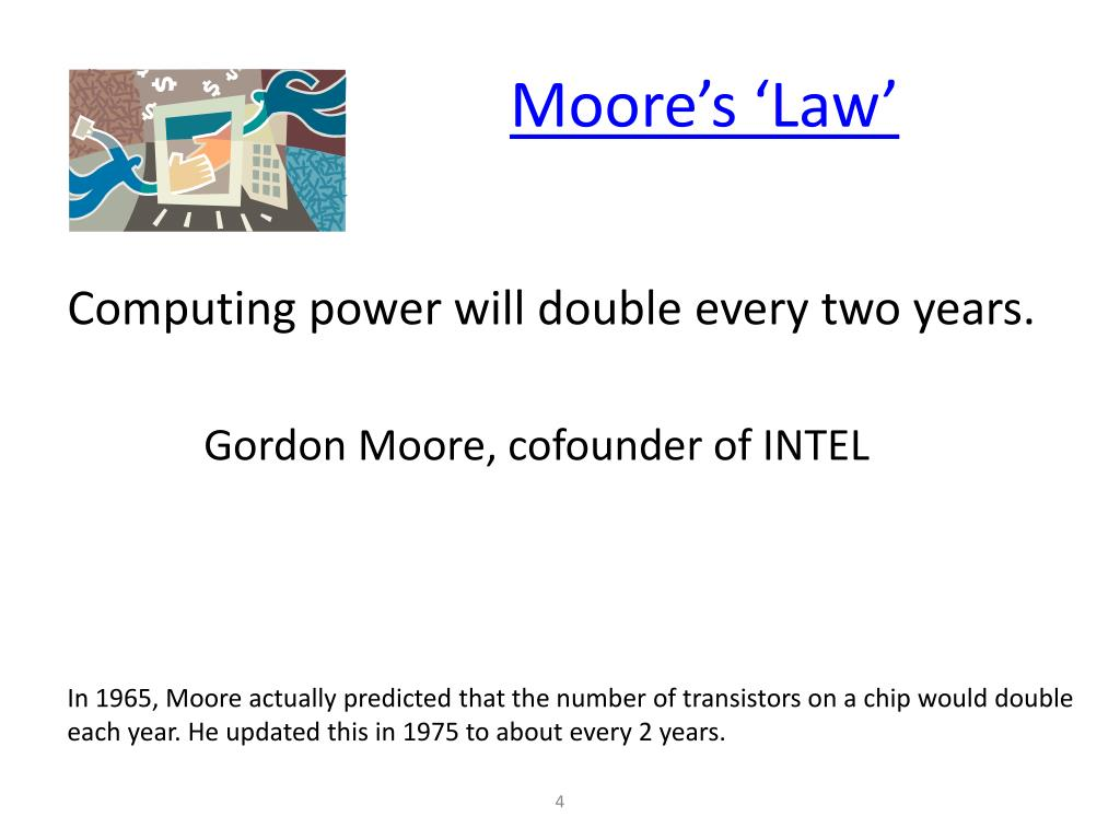 Moore's 'Law'
