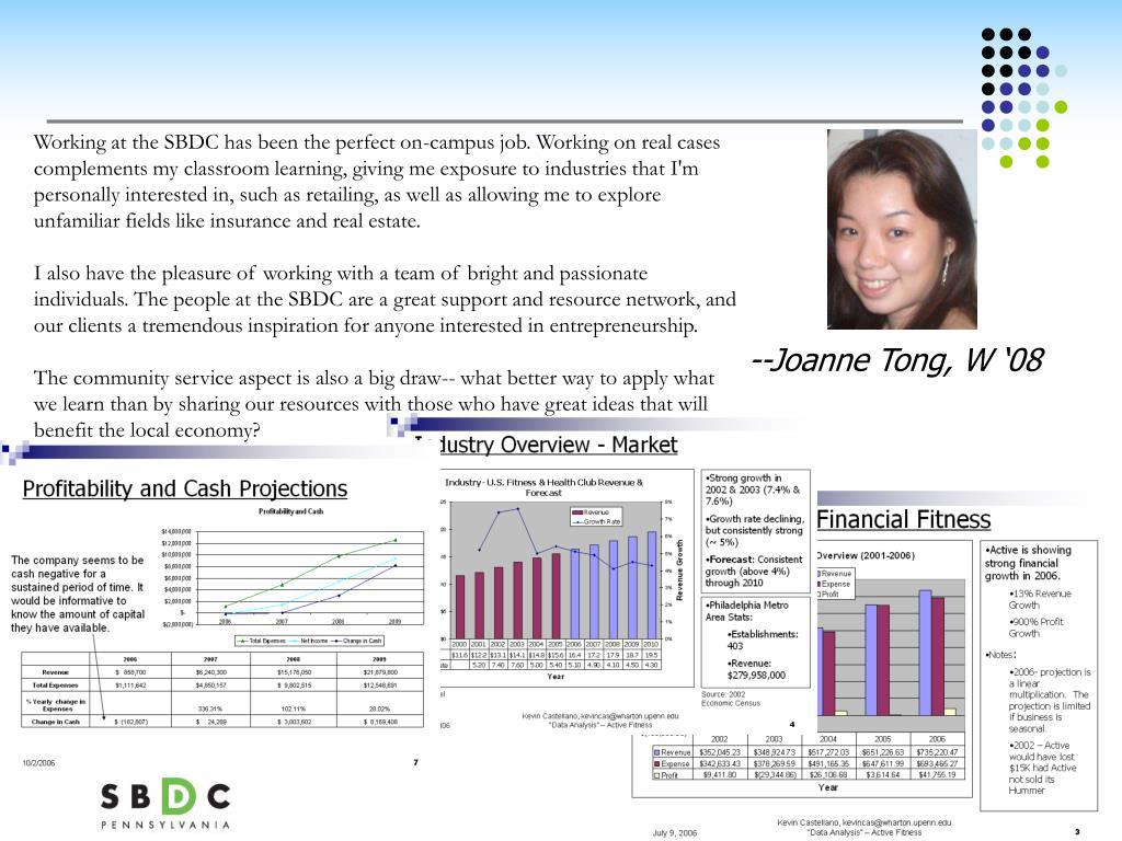 --Joanne Tong, W '08
