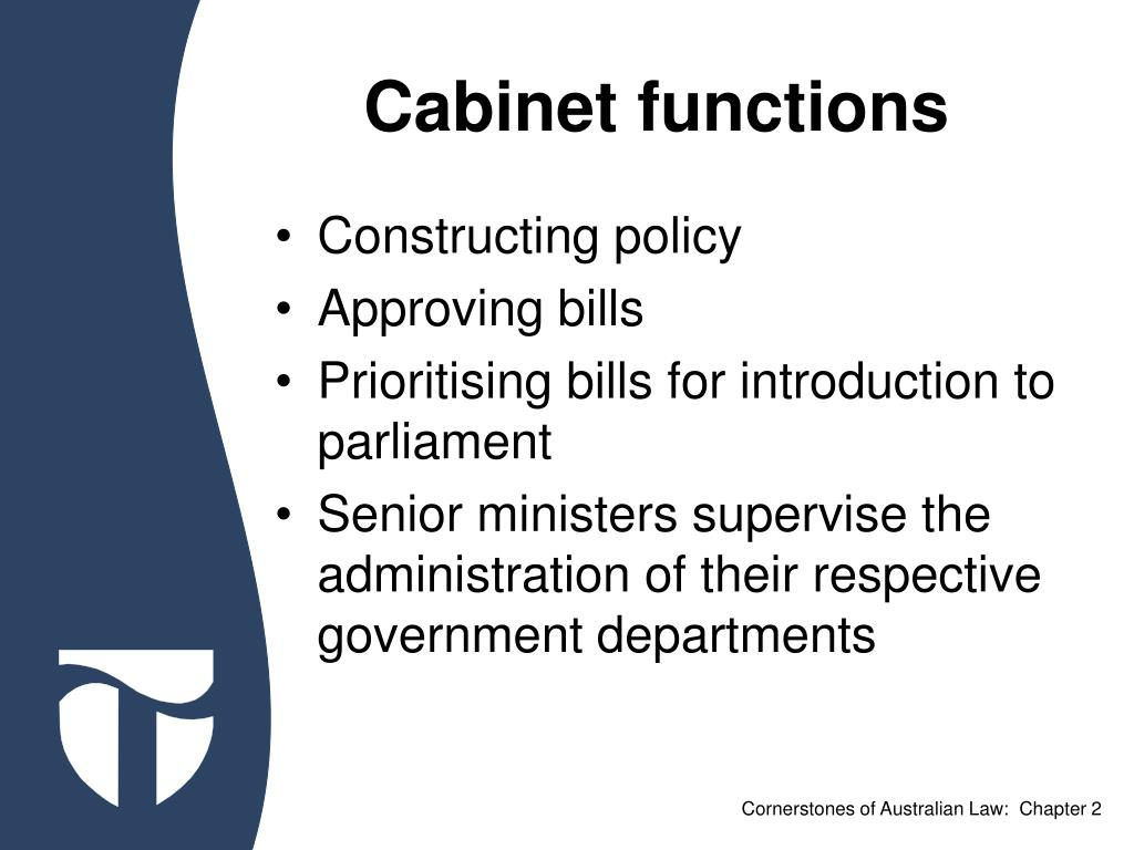 Cabinet functions