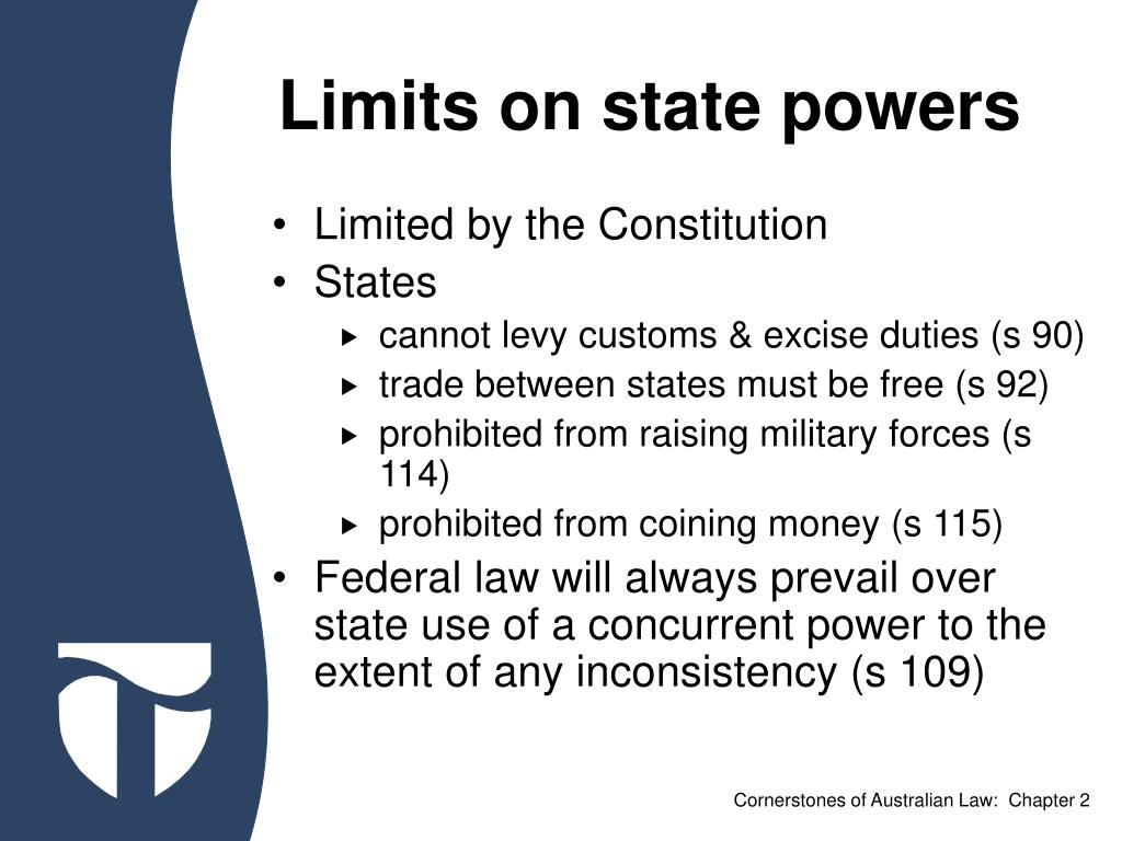 Limits on state powers