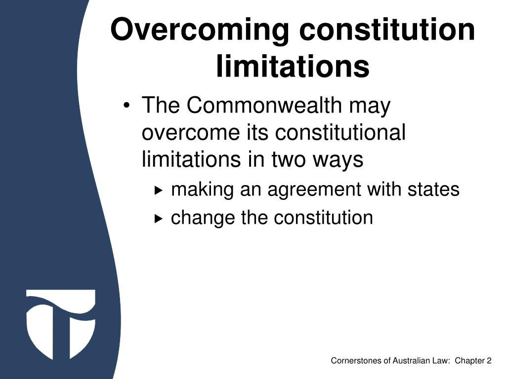 Overcoming constitution limitations