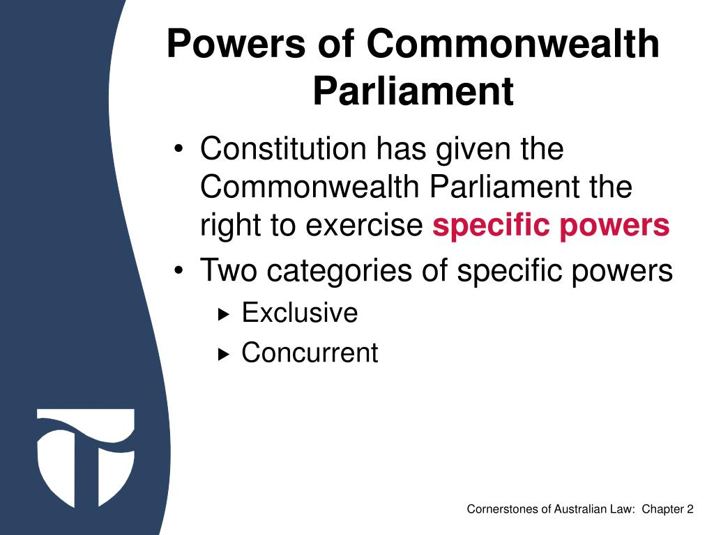 Powers of Commonwealth Parliament
