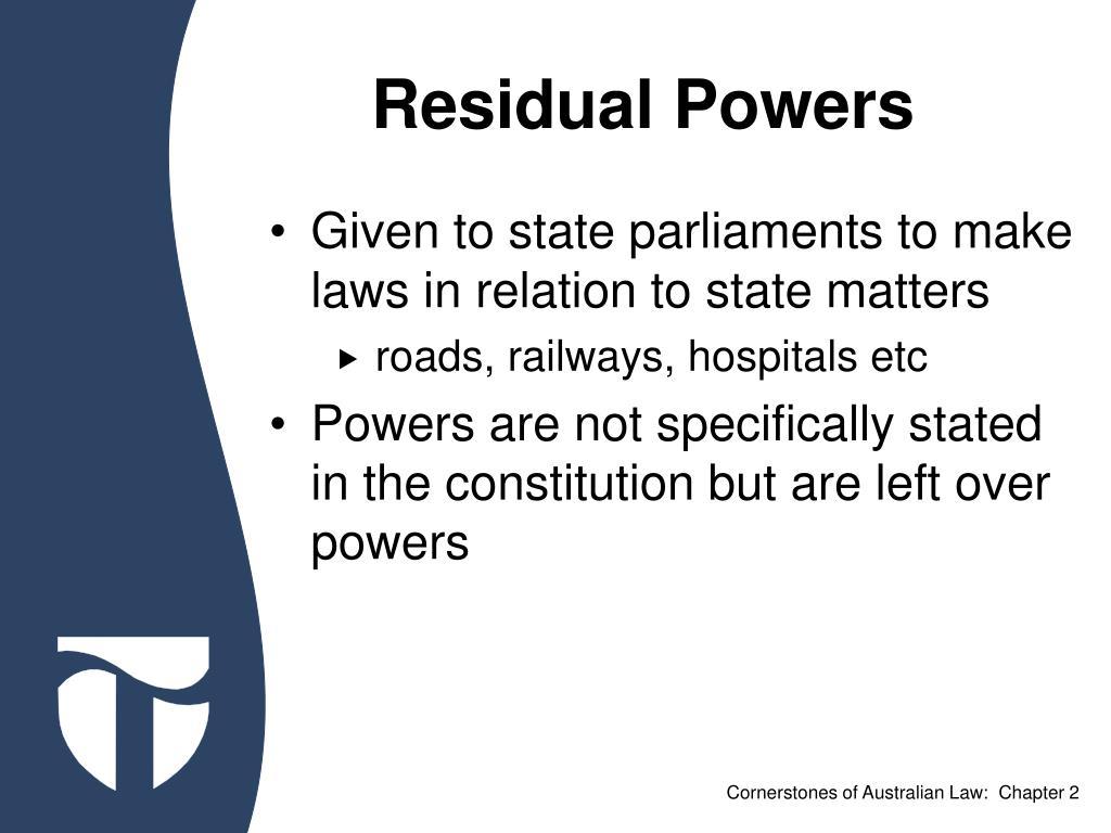 Residual Powers