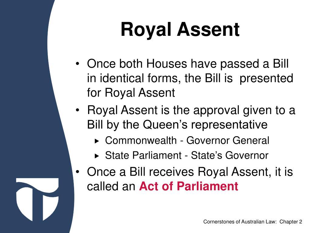 Royal Assent