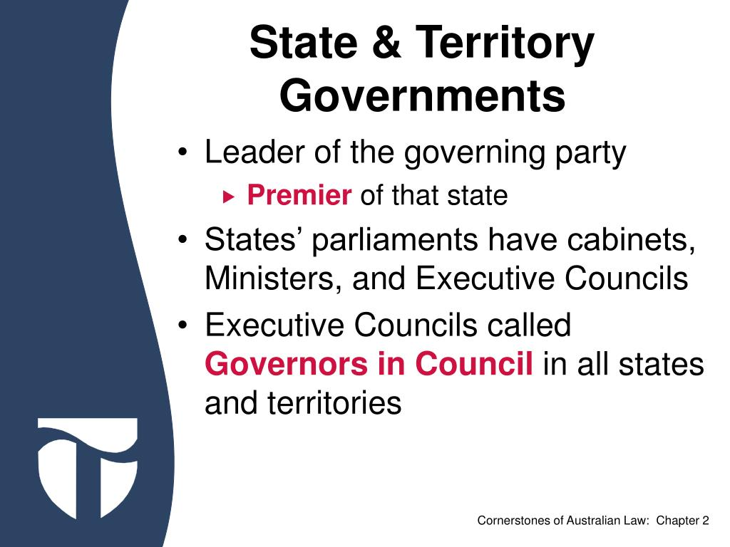 State & Territory Governments