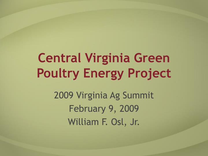 Central virginia green poultry energy project l.jpg