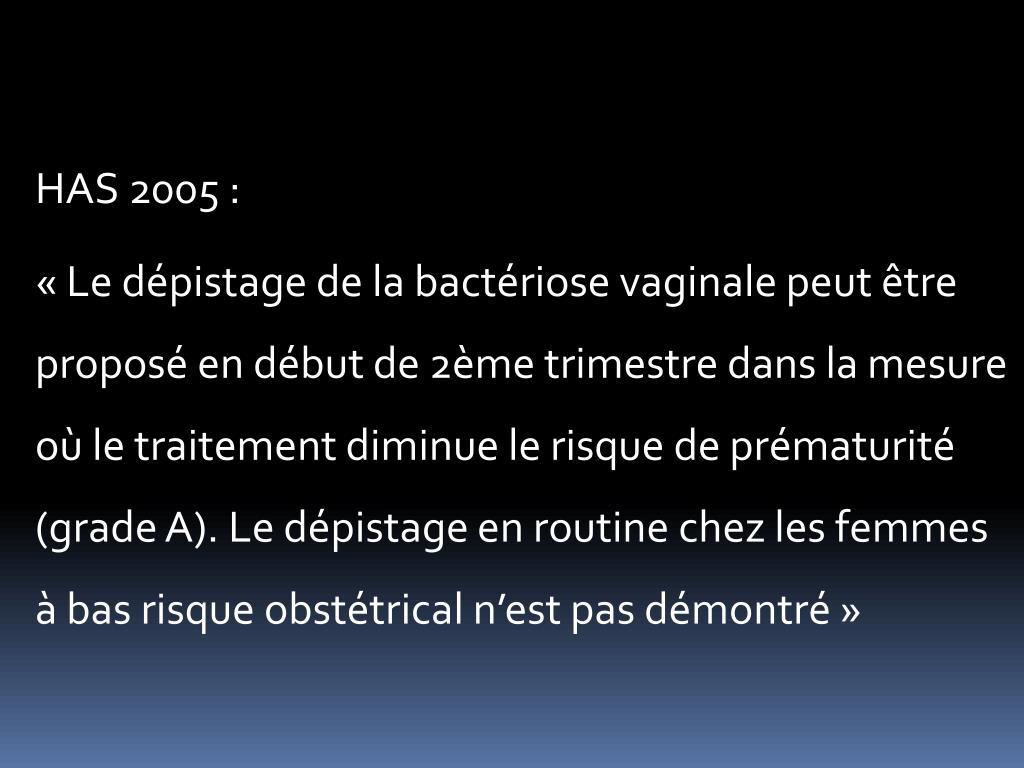HAS 2005 :
