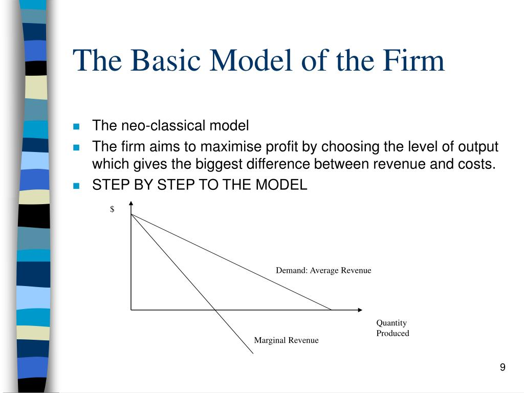 The Basic Model of the Firm