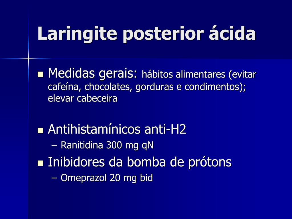 Laringite posterior ácida
