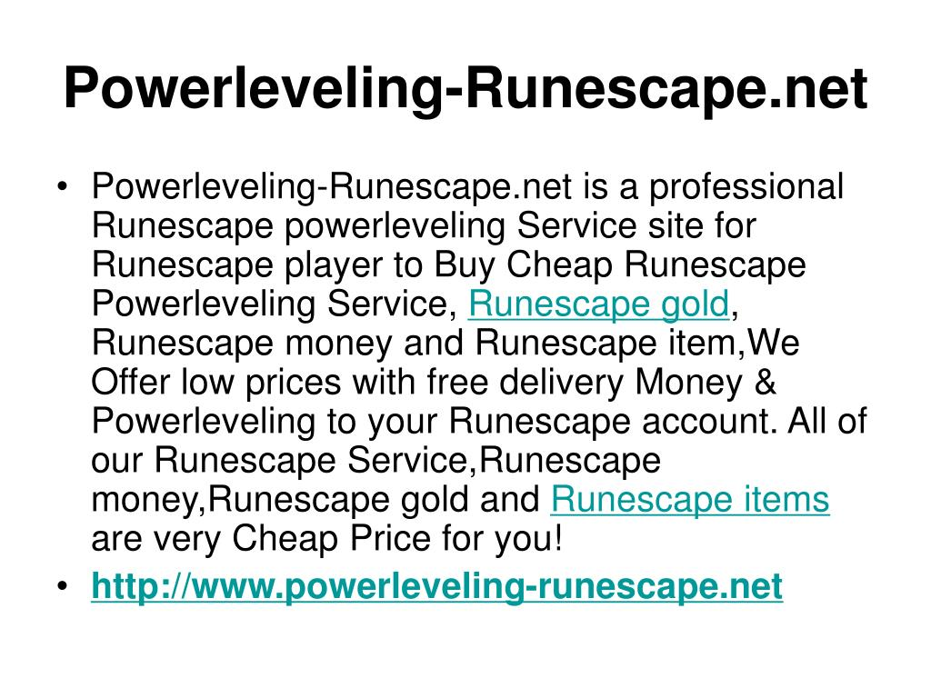 Powerleveling-Runescape.net