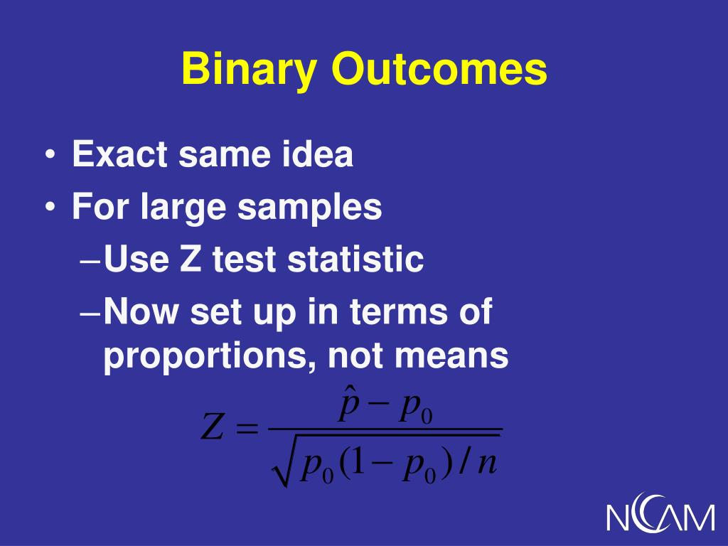 Binary Outcomes