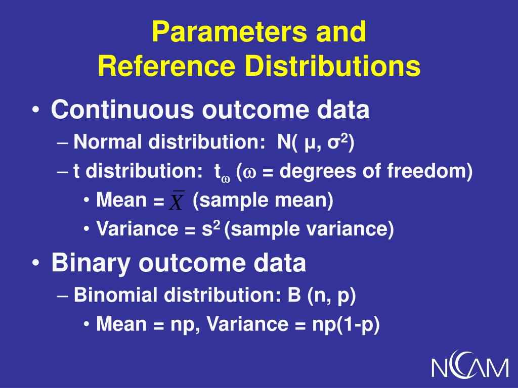 Parameters and