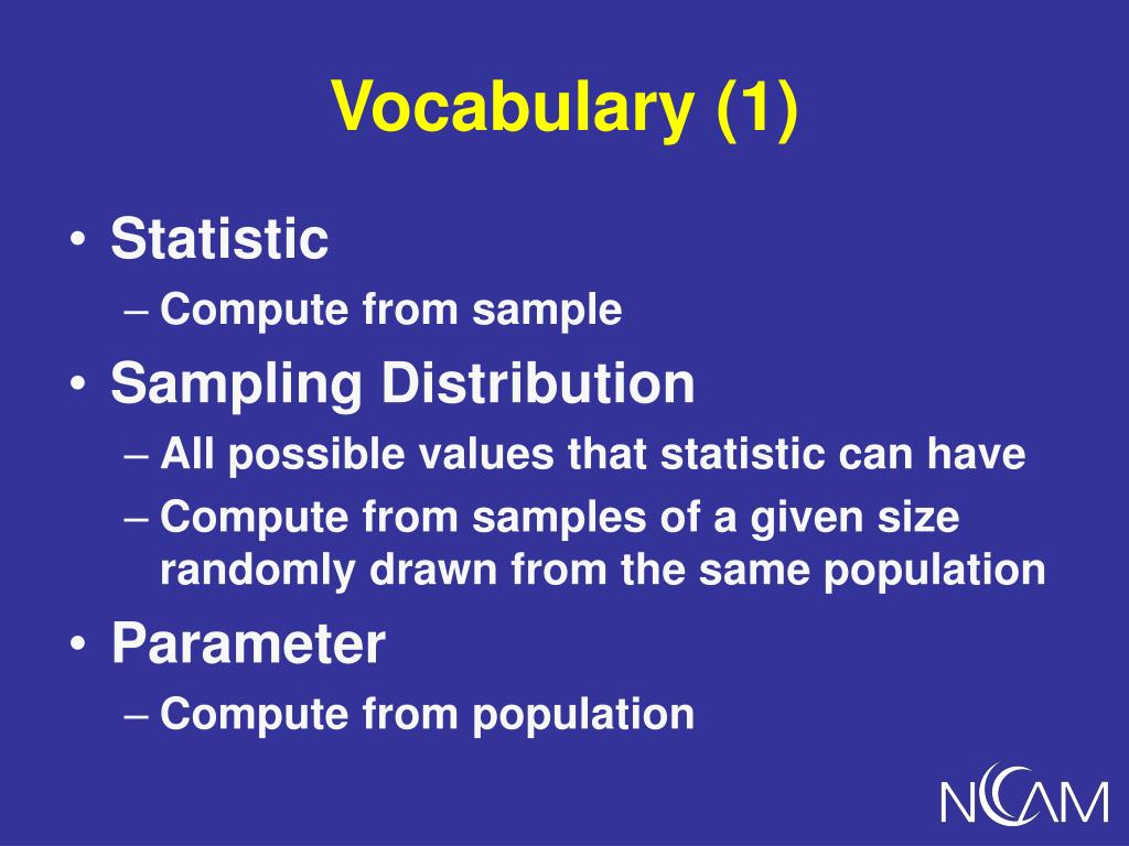 Vocabulary (1)