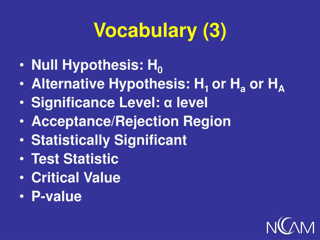 Vocabulary (3)